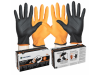 Black-Fire Nitrile Gloves Small