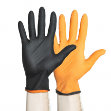 Black-Fire Nitrile Exam Gloves