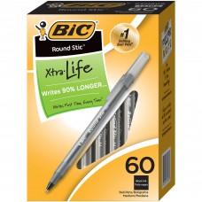BIC Round Stic Ballpoint Pens - Medium Pen Point
