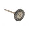 Crimped Steel Wire Wheel Brush- 3/4